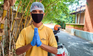Kitchen Stories -Hygienic Delivery Team for Food Delivery Service